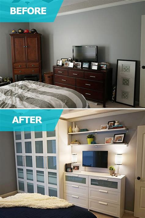 bedroom storage space 25 best ideas about ikea small bedroom on pinterest