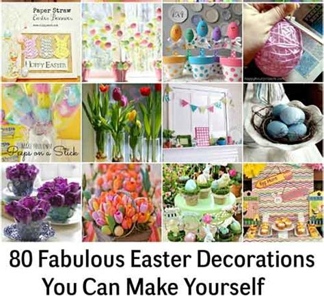 80 fabulous easter decorations you can make yourself lil moo creations