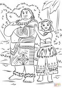 printable moana coloring pages yd99n