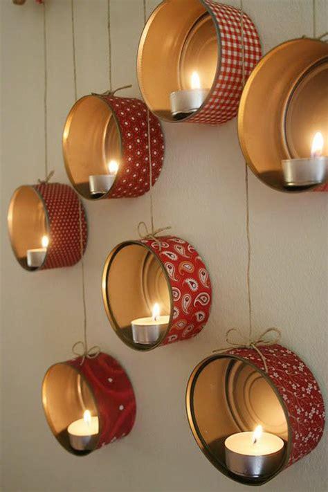 Basteln Mit Geschenkpapier by Bastelideen Zu Weihnachten Geschenkpapier Dosen Teelichter