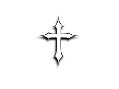 shadow cross tattoo easy tattoos to draw free designs simple and small