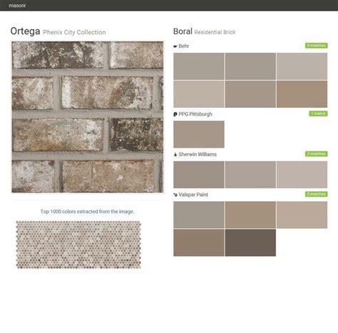 valspar exterior paint color combinations ortega phenix city collection residential brick boral