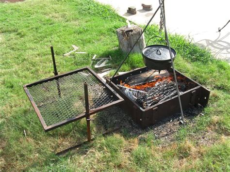 diy pit tripod grill pit cooking tripod fireplace design ideas