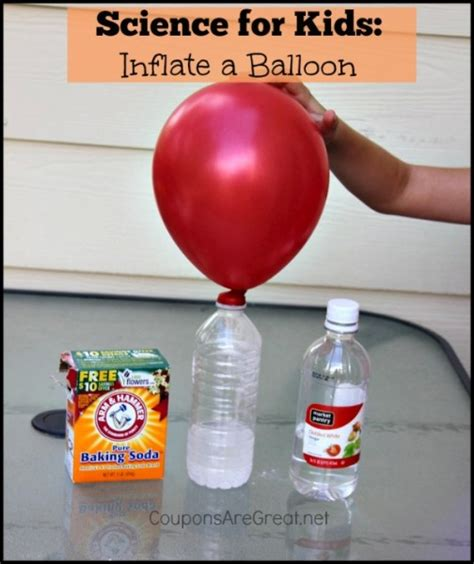 Hair Dryer Air Balloon Experiment science experiments for up a balloon with