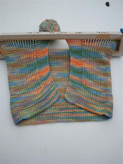 afghan knitting loom haleys loomed baby blanket picture looming