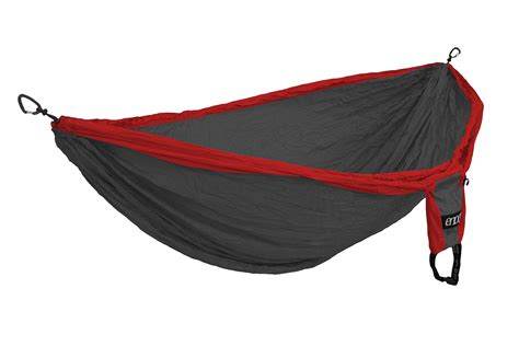 eno swing eno double deluxe hammock red charcoal dd004 vermont