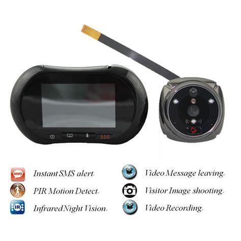Door Peephole Wifi by Wireless Wifi Peephole Smart Door Viewer Ir Motion Dectect Photo Door With Cctv