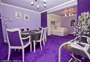 normal home interior design ordinary looking house is decorated entirely in purple