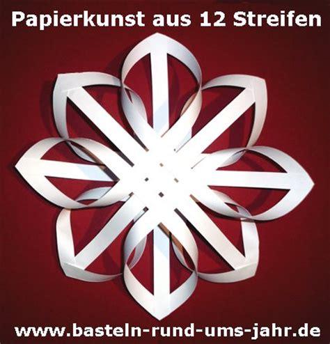 Sterne Basteln Aus Papierstreifen by Papierkunst Ein Nostaligischer Aus 12 Streifen
