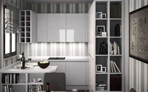 cucine spazi piccoli soluzioni progetti idee cucine cucine