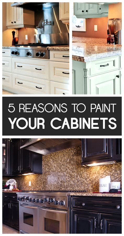 paint your kitchen cabinets 5 reasons to paint your kitchen cabinets home decoz
