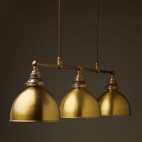 Antique Brass Edison Billiard Table Pendant Table Pendant Lights