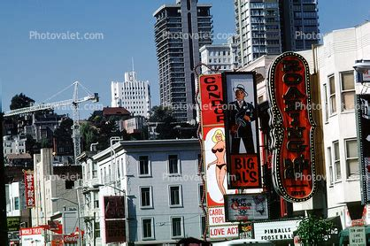 carol doda, strip clubs, broadway, landmarks, buildings