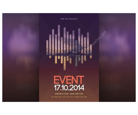 templates flyer psd modern event flyer template psd for exhibition curtural