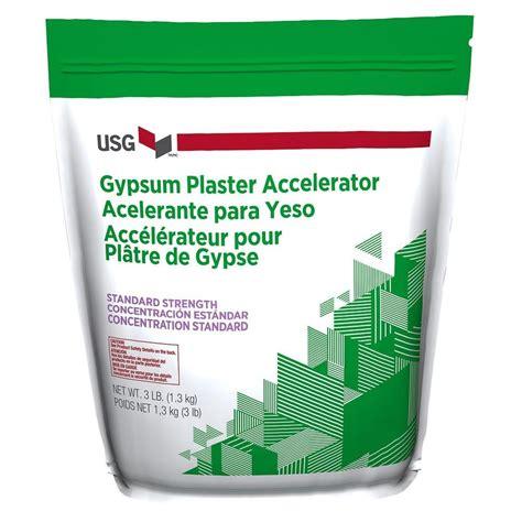 usg 3 lb standard strength plaster accelerator 160216