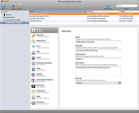 Iphone Configuration Utility Tutorial | june 2010 krille krokodil