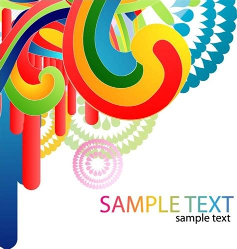 graphic layout vector colorful design background vector art free vector in