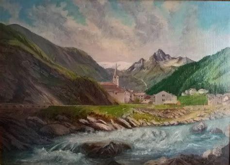 bagni di val masino attributed to carlo casati 1879 1965 bagni di val