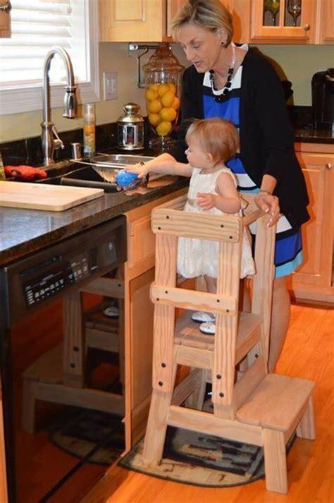 Kitchen Helper Step Stool Plans by Kitchen Helper Step Stool Montessori Inspired Solid