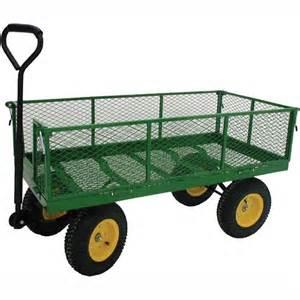 jumbo industrial garden wagon by millside garden carts