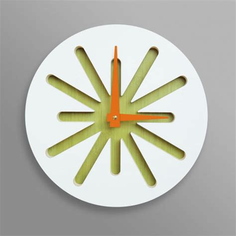 design milk clock clocks and ls by pilot design design milk