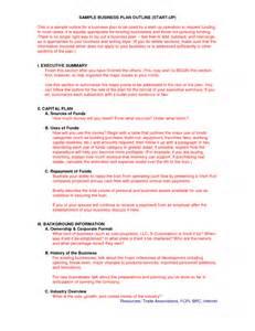 business plan startup template sle startup business plan antitesisadalah x fc2