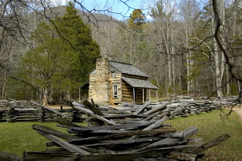 Johns Cabin by 5 Stops On The Cades Cove Tour You To See