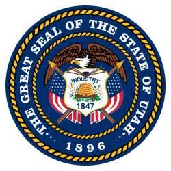 of utah colors pioneer utah state flag seal