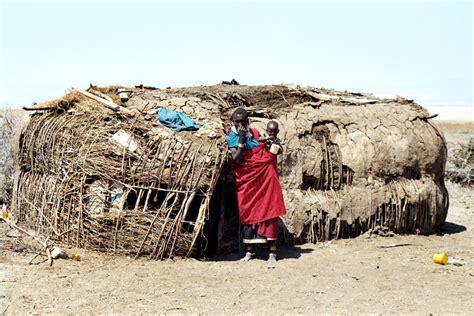 hutte masai maasai h 252 tte foto bild africa eastern africa