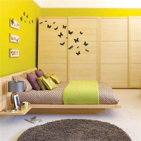 Butterfly Bedroom | butterfly themed bedroom in budget interior designing