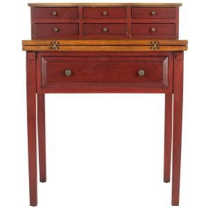 safavieh abigail fold desk safavieh abigail fold desk in cherry amh6520a the