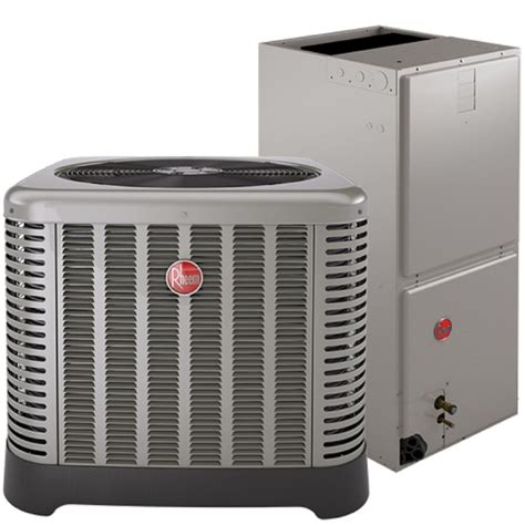 rheem  ton air conditioning condensing unit  air handler ebay