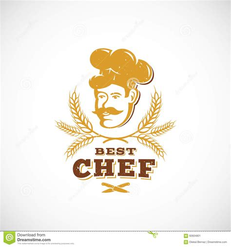 best chef best chef abstract vector sign symbol or logo template