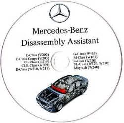 Mercedes Workshop Manual Mercedes Disassembly Assistant Workshop Manual W210