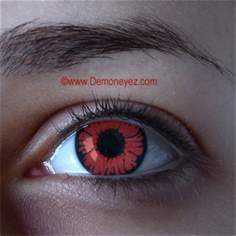 phoenix red halloween contact lenses mythical eye store