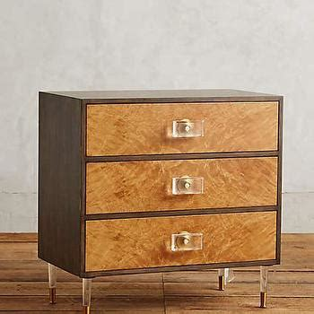 Regency Nightstand by Burlwood Regency Nightstand In Burl