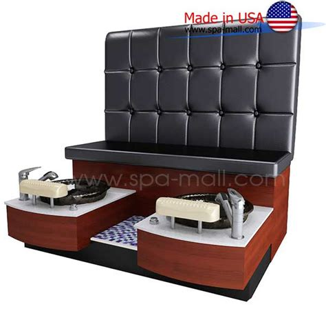 pedicure bench spa mall pedicure benches cs raiser orchid double