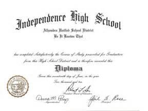 free high school diploma templates high school diploma template cyberuse