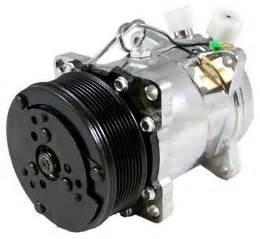 chrome sanden   compressor serpentine pulley