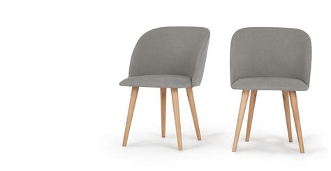 Made Dining Chairs 2 X Stig Dining Chairs Grey And Made