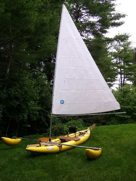 trimaran inflatable aire sawtooth inflatable trimaran small trimarans