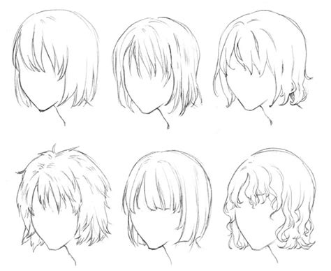 animation hairstyles short different anime hairstyles