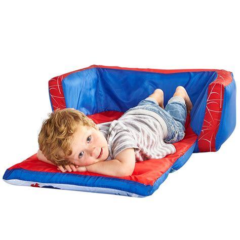 spiderman sofa b m spider man flip out sofa children s furniture