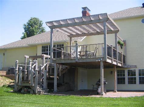 pictures of pergolas on decks photos of best pergola deck invisibleinkradio home decor