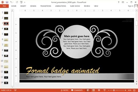 formal powerpoint templates formal powerpoint template jpg fppt