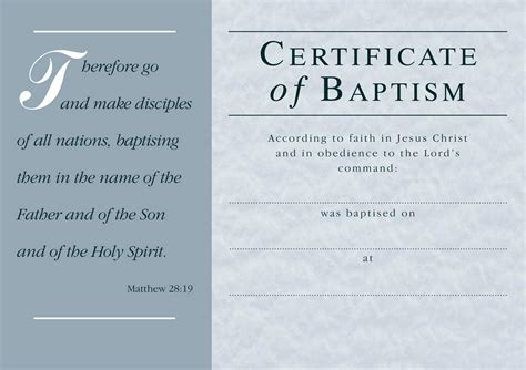 Free Baptism Certificate Template Word Templates 17835 Resume Exles Free Baptism Certificate Template Word
