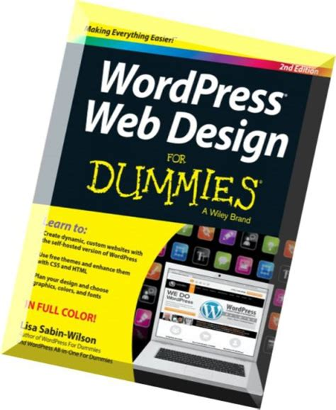 home design for dummies download wordpress web design for dummies 2nd edition