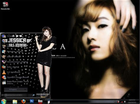 theme line jessica snsd snsd girls generation theme for windows 7 download