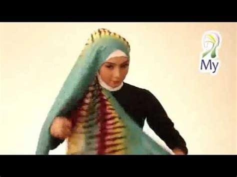 tutorial hijab pesta persegi panjang tutorial hijab pashmina persegi panjang untuk acara pesta