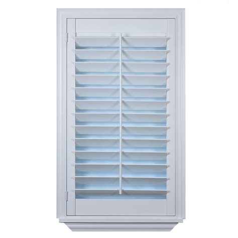 wooden shutters interior home depot custom plantation shutter installation at the home depot